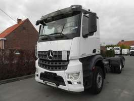 chassis cab truck Mercedes Benz Arocs chassis euro 6 2014