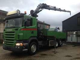 crane truck Scania R 420 6x2 hiab 244 hipro 2008