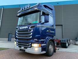 chassis cab truck Scania R730 2014