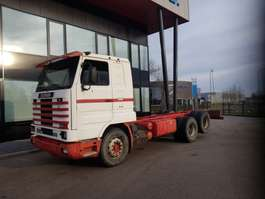 chassis cab truck Scania 143 420 full steel 1994