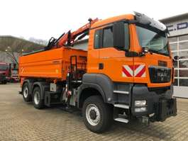 crane truck MAN TGS 28.360 6x4-4 BL *ATLAS TLC 88.3 Arbeitskorb 2011