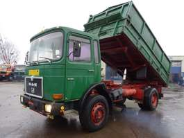 tipper truck MAN 19.281 Kipper Big Axle Good Condition 1987