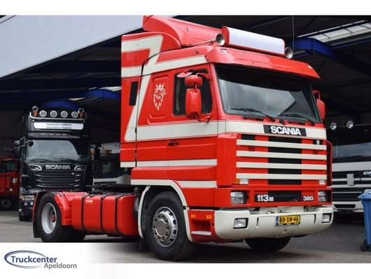 trattore stradale Scania 113 - 380, Top-Streamline, Manuel 1995
