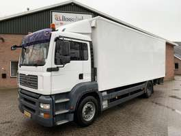 closed box truck MAN TGA 18.320 4X2 340.000KM, 3.000KG LBW, EURO 4 2007
