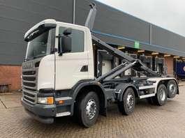 camion conteneur Scania G450 2014