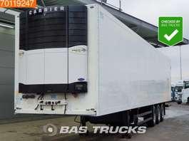 naczepa chłodnia Schmitz Cargobull Carrier Vector 1850mt Bi-/Multitemp Doppelstock Blumenbreit TUV 10-2020 2010