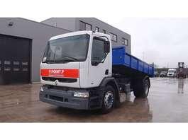 tipper truck Renault Premium 260 (GRAND PONT / SUSPENSION LAMES / POMPE MANUELLE) 2001