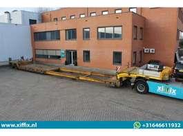 semirreboque com plataforma baixa Broshuis 2-ass. Dubbel (2x) uitschuifbare dieplader met afneembare zwanenhals 2008