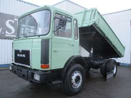 tipper truck MAN 19-331 , 3 way tipper , ZF Manual , 4x2 1985