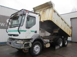 tipper truck Renault Kerax 400 tipper , NO registration paperwork , Airco , ZF Manual , 6x4 2000