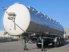 tank semi trailer semi trailer Van Hool foodstuff, 32.000 L 1991
