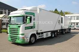 camion refrigerato Scania R 450 E6 Thermo King 1200UT/Fleisch/Tür/komp.ZUG 2015
