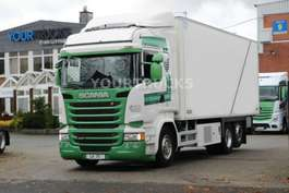 camion refrigerato Scania R 450 E6 Thermo King 1200UT/Fleisch-Meat/Türen 2015