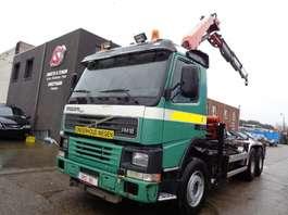 camion conteneur Volvo FM 12 380 PALFINGER PK1200/4 2005 remote 2001