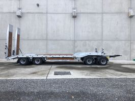Tieflader Auflieger Möslein T 4 VB H1  4 Achs Tieflader- Anhänger, Neufahrzeug 2020