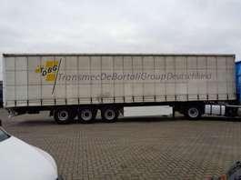 sliding curtain semi trailer Krone SD + 3 axle 2008