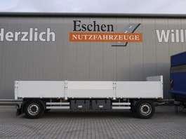 flatbed full trailer N&S Pritsche Drehschemel Pritsche 2013