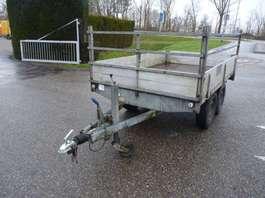 closed box car trailer Titan V plateauwagen 2000