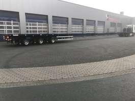 flatbed semi trailer Nooteboom Mega low (Floor 118 cm), 36.0 Mtr, (Made NEW, NIEUW, NEU, NOVEUO ) 2003