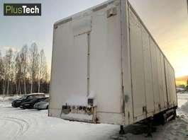 refrigerated semi trailer Ekeri Citytralle 2002