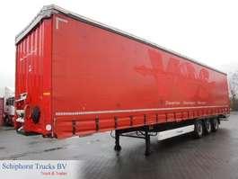 sliding curtain semi trailer Krone SD Profi Liner (BPW) 2012