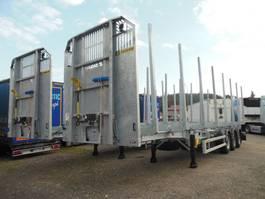 timber semi trailer D-651A, 6 STÜCKS - SOFORT - AUF LAGER!!! 2020