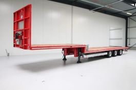 semi lowloader semi trailer Pacton semi dieplader | Twistlock | Rongen 2020