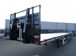 flatbed semi trailer SDC Nieuw | Voorraad 2019