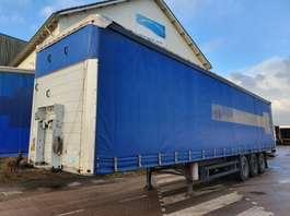 sliding curtain semi trailer Schmitz Cargobull SCS27 2017