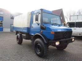 Militär-LKW Unimog 1300L 4x4 T2  huif  Ex-Army 1985