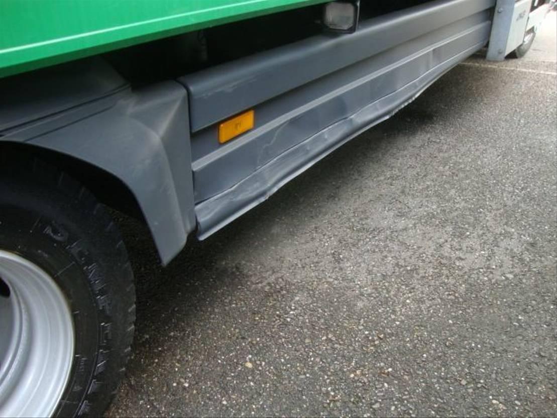 closed box truck > 7.5 t Mercedes Benz ATEGO 2013
