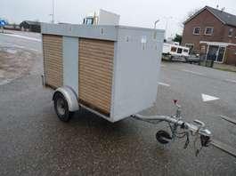 closed box car trailer gesloten wagen