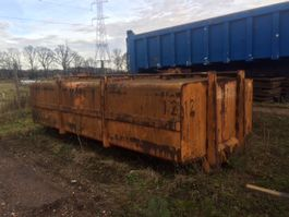 open top shipping container WAF Occ vloeistofcontainer WAF 12500l