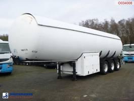Tankauflieger Auflieger Guhur Gas tank steel 49 m3 + pump/counter 1997