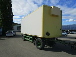 closed box car trailer Ackermann 2-Achs ISOLIER-Anhänger ACKERMANN LBW BÄR 1,5 T 2004