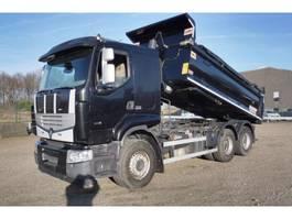 tipper truck > 7.5 t Renault 460 DXI - LANDER - 6x4 - WISSELSYSTEEM KIPPER + TREKKER - EURO 5 - 291.3... 2013