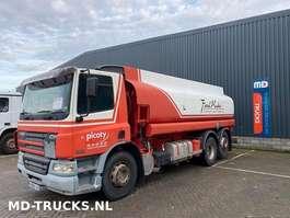 cisternové vozidlo DAF CF 75 310  manual  6x2 19000 liters 2003