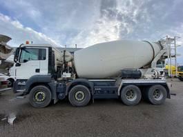 concrete mixer truck MAN TGS 37.360 8x4 EURO6 10m3 mixer EURO6 2017