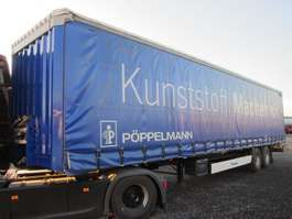 tilt trailer Krone SZP 18 2-Achs Schiebeplaner TÜV neu!!! 2007