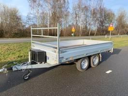 drop side car trailer Hapert PLATEAU WAGEN 2011