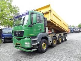 tipper truck > 7.5 t MAN TGS 41.480 10X4 2009