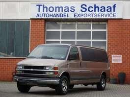 samochód dostawczy zamknięty Chevrolet Express LS 5.7 V8 Gas/Lpg/G3 Klima Doppelkabine LKW 2002