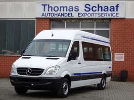 wheelchair transport lcv Mercedes Benz Sprinter 313 Cdi Maxi 9 Sitze Klima Rollstuhllift 6 Gang Euro 5 2013