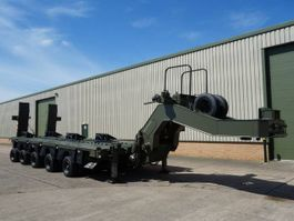 Tieflader Auflieger Systems Electronics M1000 5 Axle Low Loader 2010
