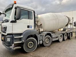 concrete mixer truck MAN TGS 49.440 10X4-6 BB 15m3 mixer EURO6 2016