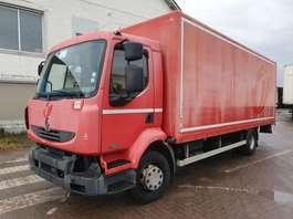 closed box truck Renault Midlum 180 dci 2006