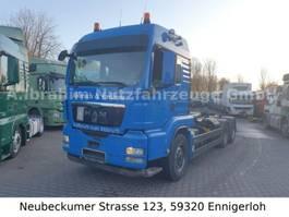 camión contenedor MAN 26.440, Meiller AK 20.65, Lenk-Lift