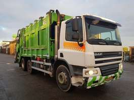 garbage truck DAF FAG CF75 2006
