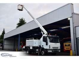 camión grúa montada en brazo Iveco Eurocargo 120EL18, 16.5 Meter ESDA TL1650, Euro 5 2007