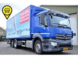 swap body truck Mercedes Benz ANTOS 2530 6X2 BDF LIFT+STUUR AS EURO 6 2013